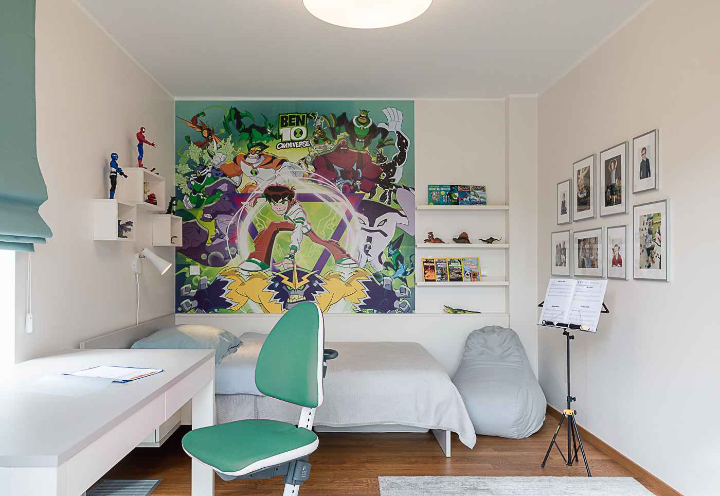 Joyful kids rooms